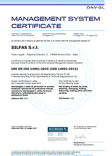 Silfas - ISO 14001