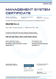 Silfas - ISO 9001